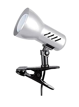 De-sign Lights Lampe Clip silber