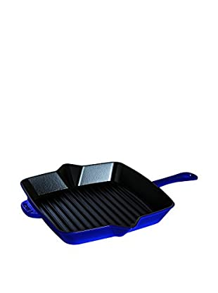 Staub American Square Grill Pan (Dark Blue)