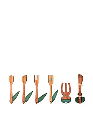 BergHOFF EarthChef 6-Piece Bamboo Utensil Set, Natural