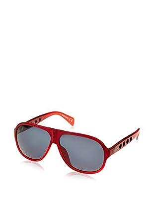Diesel Sonnenbrille (64 mm) rot