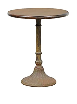 Tottenham Court Barclay Iron Table, Rustic Iron
