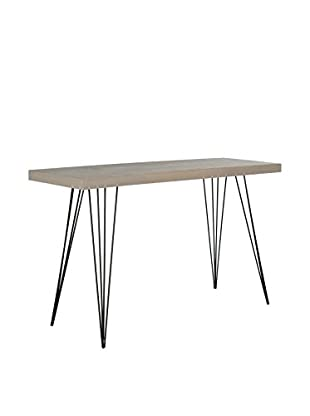 Safavieh Wolcott Console Table, Grey/Black