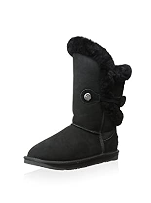AUStralia Luxe Collective Womens Nordic Shearling Short Boot (Black)