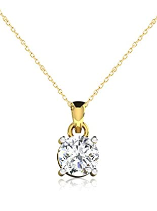 Friendly Diamonds Set catenina e pendente FDP6258Y Oro Giallo