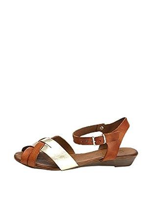 Bueno Shoes Sandalias Planas Cruzadas