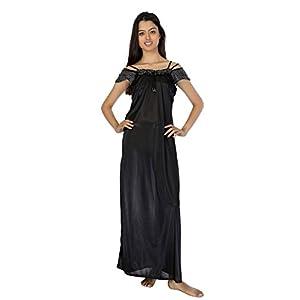 Affair Black Night Gown