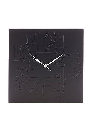 Contemporary Living Reloj De Pared Mix Negro