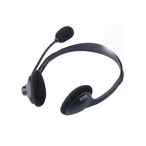 Intex Standard On-Ear Headphone with Mic (Black)
