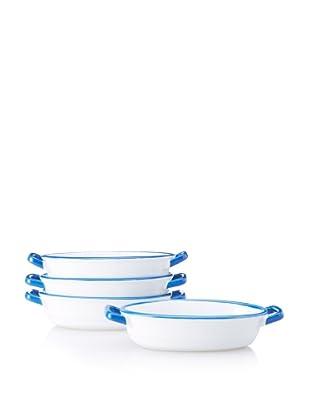 Mason Cash Set of 4 Enamour Gratin Dishes