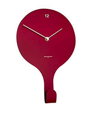 Diamantini & Domeniconi Reloj De Pared En Suspend Rojo