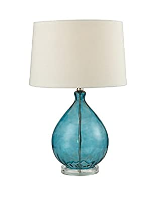 Artistic Lighting Table Lamp, Teal