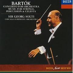 ショルティ/シカゴ交響楽団 バルトーク:管弦楽のための協奏曲&弦楽器、打楽器、チェレスタのための音楽のAmazonの商品頁を開く