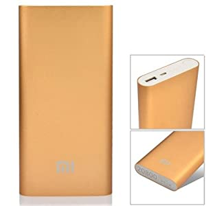 OEM Power Bank 20800 mAh large capacity for iPhone Samsung Sony Motorola Mi and other Phones (Golden Mostly)