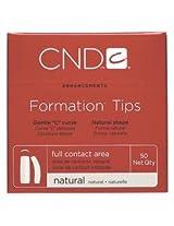 Creative Nail Tips Formation Natural, No. 4, 50 Count