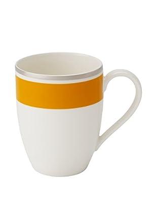 Villeroy & Boch Anmut My Colour 11.37-Oz. Mug, Orange/White