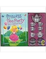 Princess Tea Party Story & Recipe Book & Play Set
