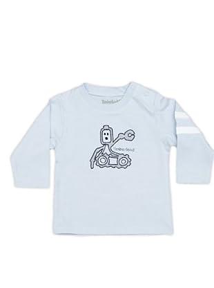 Timberland Kids Camiseta Bordado (azul celeste)