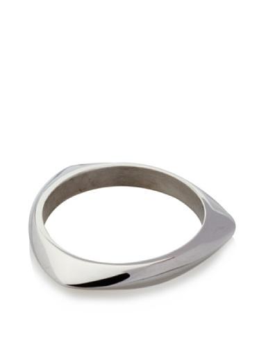 Katie Rowland Lilith Solid Tri Stacker Ring (Black Rhodium)