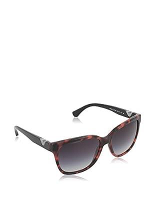 Emporio Armani Sonnenbrille EA403852778G57 (56 mm) schwarz/rot