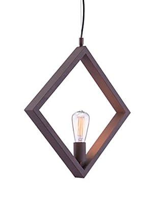 Zuo Rotorura Ceiling Lamp, Rust