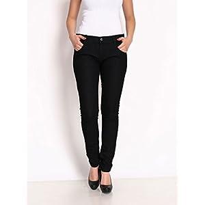 Spike Women's Skinny Fit Jeans PL-LJR-BLACK