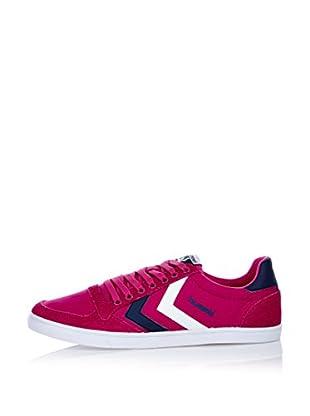 Hummel Sneaker Slimmer Stadil Low (himbeere/blau)
