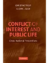 Conflict of Interest and Public Life: Cross-National Perspectives