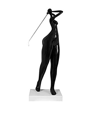 Arte Dal Mondo Figura Giocatrice Di Golf