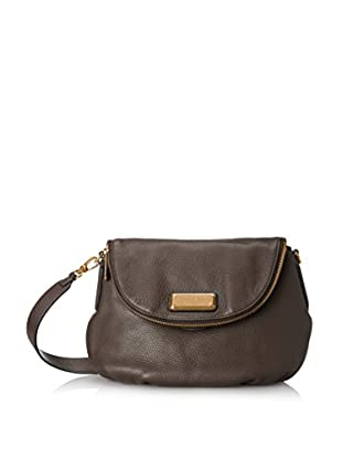Marc by Marc Jacobs Women's Q Natasha Crossbody, Faded Aluminum
