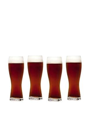 Mikasa Set of 4 Brewmaster's 28-Oz. Wheat Pilsner Glasses