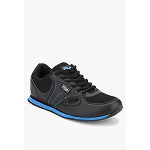 Brisk Black Running Shoes Fila