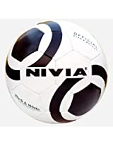 Nivia Black And White Football , Size 5