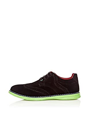 Star Jaguar Zapatos Derby Contrast (Negro)