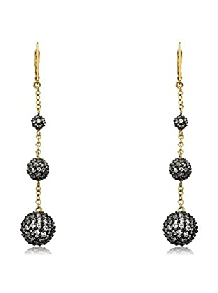 Riccova Cosmopolitan Triple-Drop Earrings with CZs