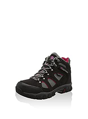 Karrimor Bodmin IV Weathertite, Women's Trekking and Hiking Shoes, Dark Grey/Cochineal, 3 UK