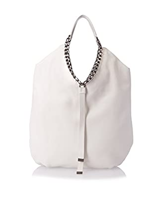 Furla Women's Idol L Tote Vitello Grana Cervo, Petalo (White, One Size