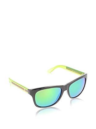 GUCCI Gafas de Sol 3709/ S Z9 CHQ (57 mm) Negro