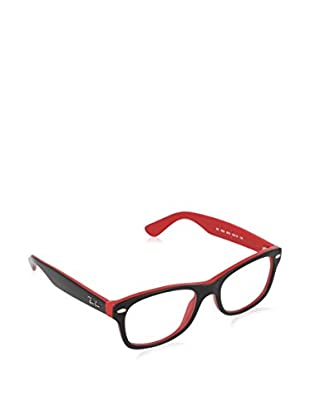 Ray-Ban Gestell Junior 1528 357346 (46 mm) schwarz/rot
