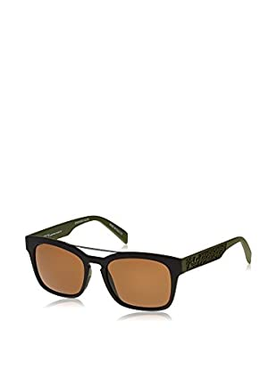 Italia Independent Gafas de Sol 01969 Hero (53 mm) Negro / Oliva