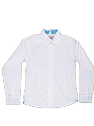 Naf Naf Chevignon Camisa Bordado (blanco)