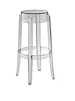 Furniture Contempo Judi Bar Stool, Clear