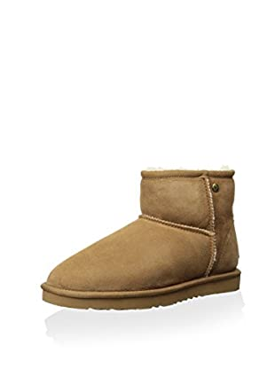 Koolaburra Women's Classic Ankle Sheepskin Boot (Chestnut)