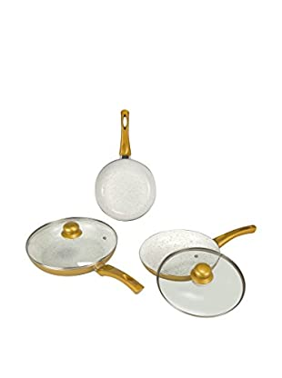 NEWCHEF Set Sartén 3 Uds. Golden NL6425