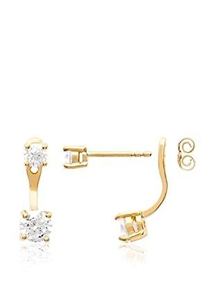 BALI Jewelry Orecchini Ear Cuff metallo placcato oro 18 kt