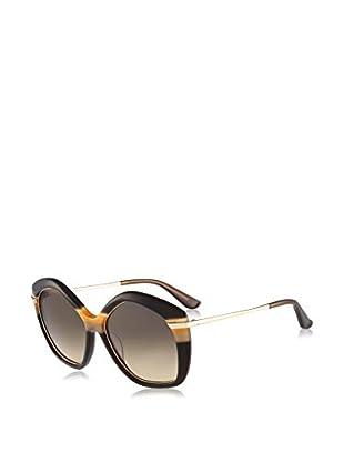Salvatore Ferragamo Sonnenbrille (56 mm) braun/goldfarben