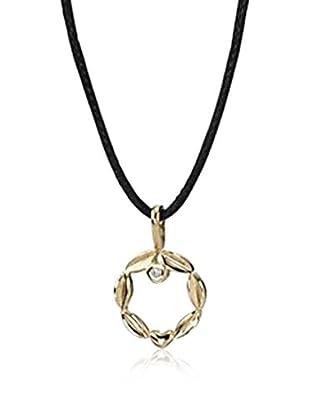 Pandora Halskette  schwarz/goldfarben