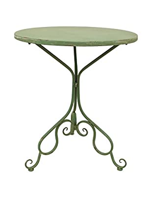 Three Hands Metal Table, Green