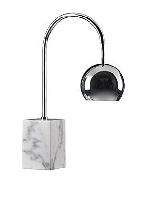 Zuo Run Table Lamp, Chrome