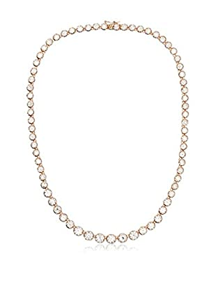 CZ by Kenneth Jay Lane Graduated CZ Rounds Necklace