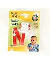Baby Buddy - Bear Pacifier Holder Red (1 pack of 18 items)